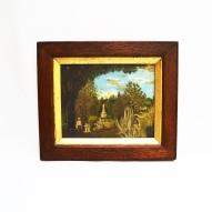 Toowoomba-Botanic-gardens, Glass-Painting