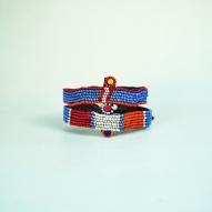African-Beaded-Armband, African-tribal-art,