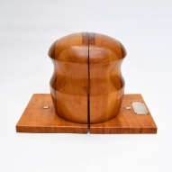 Tasmanian-Timber, Australiana, Book-ends