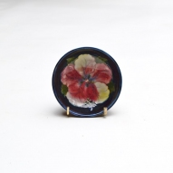Moorcroft-hibiscus-bowl, Moorcroft-pottery,