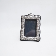 Silver-picture-frame, Sheffield-1985-hall-mark,