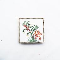 Florence-Twells-Artist, Western-Australia-China-Painting, Flower-Painting