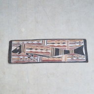 Aboriginal-Bark-Painting, Dugong