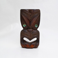 Maori-mask, first-arts, artificial-curiosities,