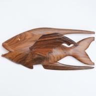 Pitcairn-Island-fish-carving, Pitcairn-Island, Reynold-Warren