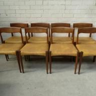 Parker-furniture,blackwood-furniture, vintage-dining-chairs