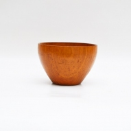 Teak-Bowl, Turned-Timber-Bowl,