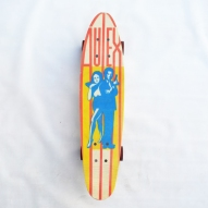 1970's-Fibreglass-Skateboard, Autex-Fibreglass-Skateboard,