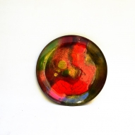 Enamelled-Copper-Plate