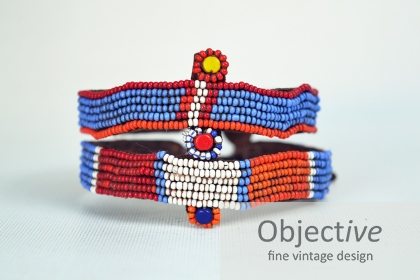 African-Beaded-Armband, African-tribal-art,
