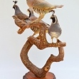 Partridge, Quail, Bird-Taxidermy,