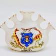 Tasmanian-coat-of-arms, Australian-coat-of-arms, kangaroo, emu, Hobart-Crest, Florentine-China, Australiana,