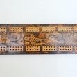 Australian-folk-art, Splatter-Work, Cribbage-Board,