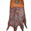 Crocodile-Foot-Coin-Purse, Taxidermy, Salt-Water-Crocodile,