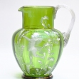 Mary-Greggory-Jug, Mary-Greggory- Glass-Jug, 'Mary-Greggory'