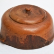 Early-Turned-Treen-Lidded-Box