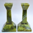 Green-Onyx, Green-Onyx-Candle-Holders,