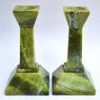 Green-Onyx, Green-Onyx-Candle-Holders,