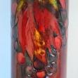 William-Moorecroft-pottery, William-Moorecroft-flambe  Berries-&-Leaves-vase