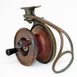 Rare-early-Alvey, Side-Cast-Fishing-Reel, Early-Alvey