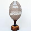 K. Ward Carved Emu Egg