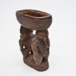 PNG-artifact Ramu-river-art Coastal-Sepik-River Betal-nut-mortar, Sepik-River-Betal-Nut-Morter. Maori-carving, first-arts, artificial-curiosities,