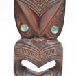 Maori-mask, first-arts, artificial-curiosities,