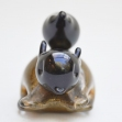 IsleofWight-glass, Isle-of-Wight-glass, Squirrel-Paper-Weight,
