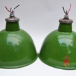Industrial-enamel-ceiling-lights