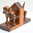 Mulga-Wood-Book-Ends, Mulga-wood