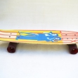 1970's-Fibreglass-Skateboard, Autex-Fibreglass-Skateboard,