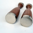 Mid-Century-teak-Candle-Sticks, teak-Candle-Sticks,
